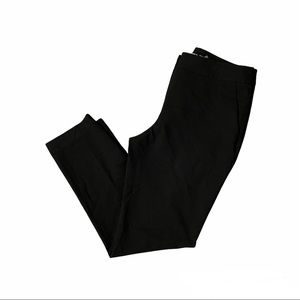 KARL LAGERFELD Women's Black Tapered Pants Trousers Size 8